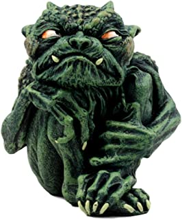 Ebros Gift Demonic Notre Dame Toad Troll Gargoyle Figurine Collectible (Guilty)