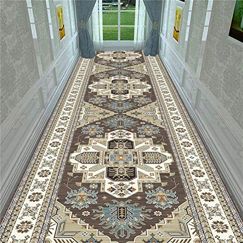 EASY TO CLEAN NON-SLIP DURABLE CARPET Home Kitchen Carpets Rugs Moroccan National Style Floor Mat Bedroom Decor Parlor Area Rug Anti-slip Corridor Carpet Living Room ( Color : No.1 , Size : 45x70cm )