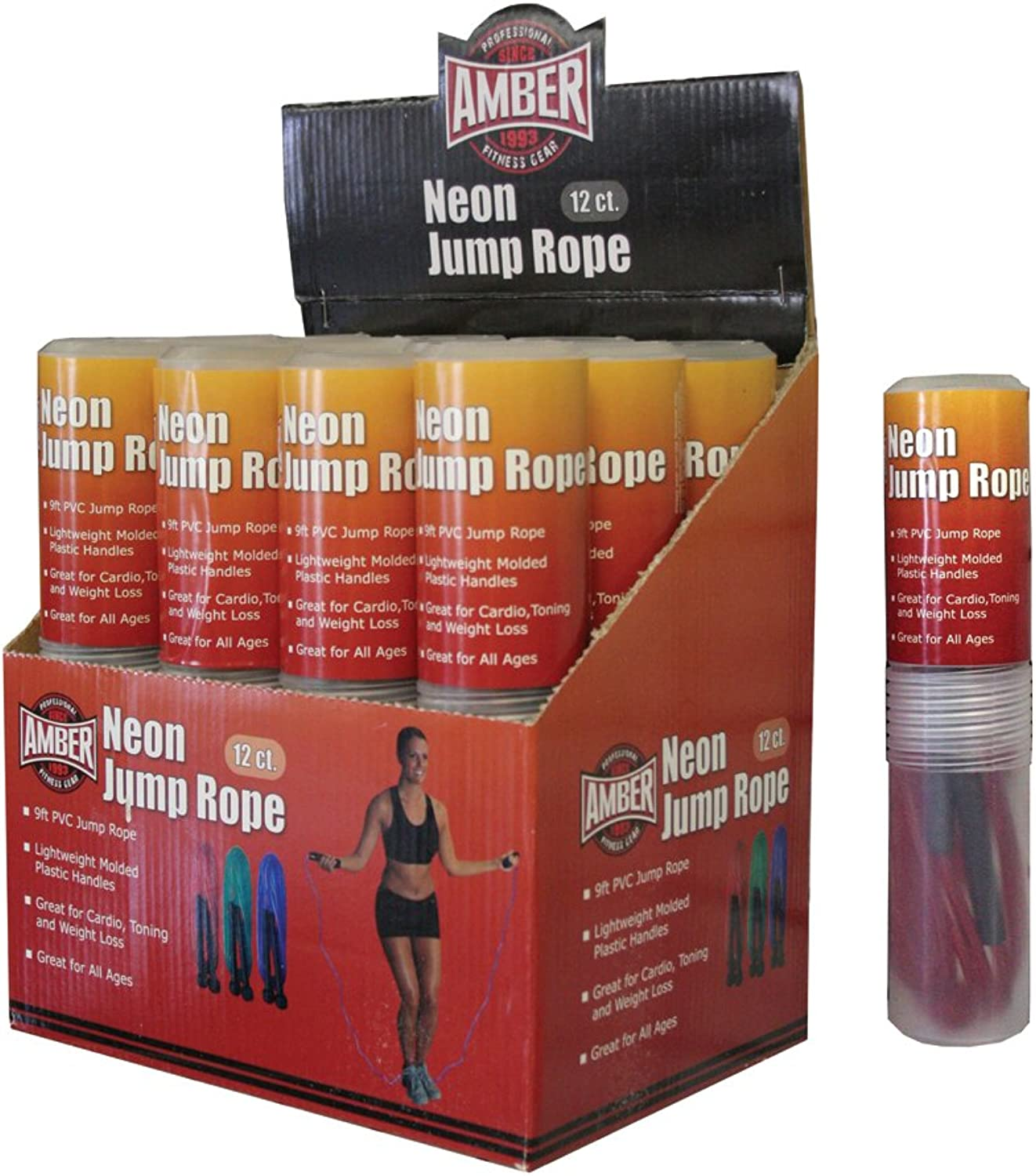 Amber Sports Fitness Jump Rope 2.7m (Each Jump Rope)