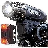 BLITZU Gator 320 USB Rechargeable Bike Light...
