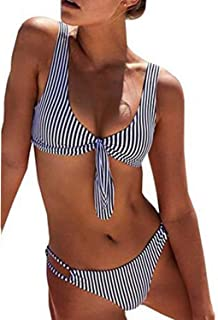 a9b18df3c0 Amazon.com: Halter - Bikinis / Swimsuits & Cover Ups: Clothing ...