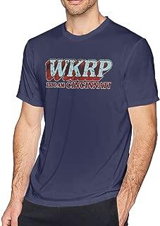 WKRP In Cincinnati Men's Fashion T-Shirt Logo T-Shirt Printing Short Sleeve T-Shirt