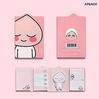 KAKAO FRIENDS 4 Sticky Memo Pad - Apeach Sticky Memo Pad