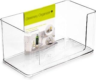 KDOAE Boîte de Rangement de Maquillage Boîtier de Stockage en Plastique Shart Boîte de Rangement de boîtes de Stockage Sto...