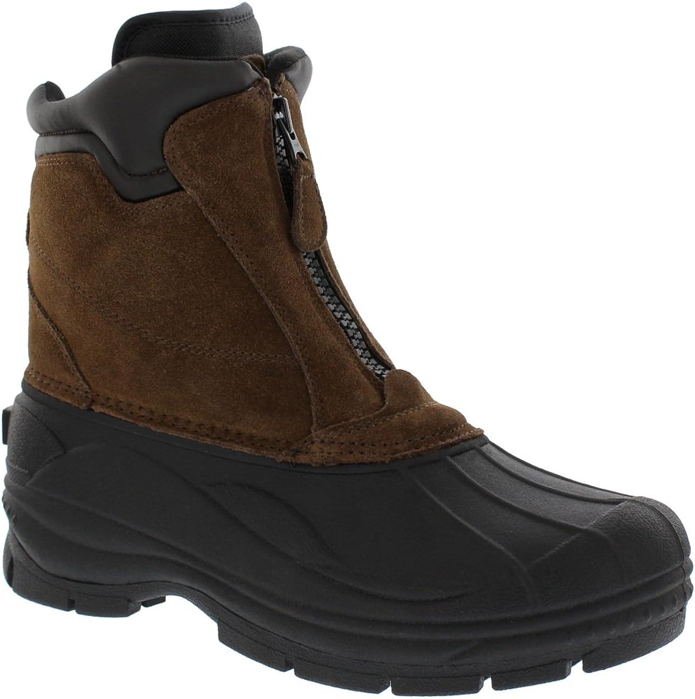 Khombu Mens Paul Front Zip Snow Boot