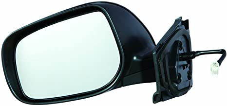Gold Shrine Side Door Mirror Power for Toyota Yaris Hatch Back 2007 2008 2009 2010 2011 Driver Left Side TO1320230