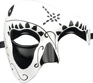Mask Men's Phantom of The Opera Half Face Masquerade Mask Vintage Design