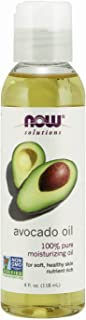 NOW Solutions, Avocado Oil, 100% Pure Moisturizing Oil, Nutrient Rich and Hydrating, 4 FL..