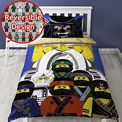 La película de Lego Ninjago 'Guru' solo Panel funda nórdica cama conjunto