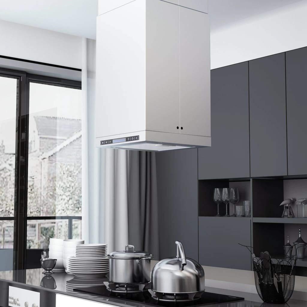 vidaXL Campana Extractora de Techo Pantalla Sensor Táctil 756m³/h LED Cocina: Amazon.es: Grandes electrodomésticos