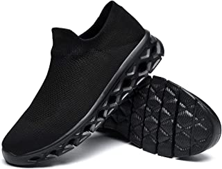 Walking Shoes Slip-on Sock Sneakers Lightweight Non-Slip...