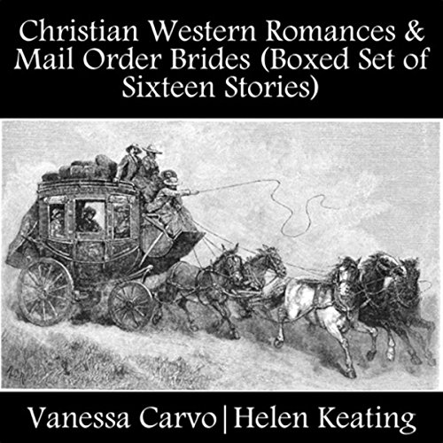 Christian Western Romances & Mail Order Brides audiobook cover art