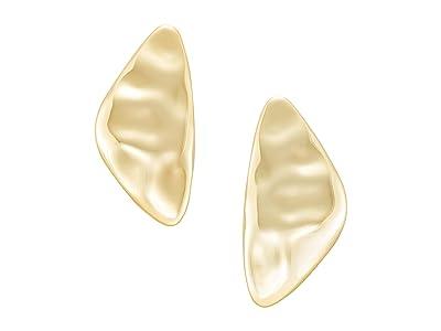Kendra Scott Kira Statement Earrings (Gold Metal) Earring