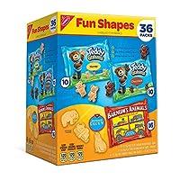 Nabisco Fun Shapes Variety Pack (1 oz., 36 ct.) ナビスコ ファンシェイプス バラエティパック 28g 36個入り [並行輸入品]