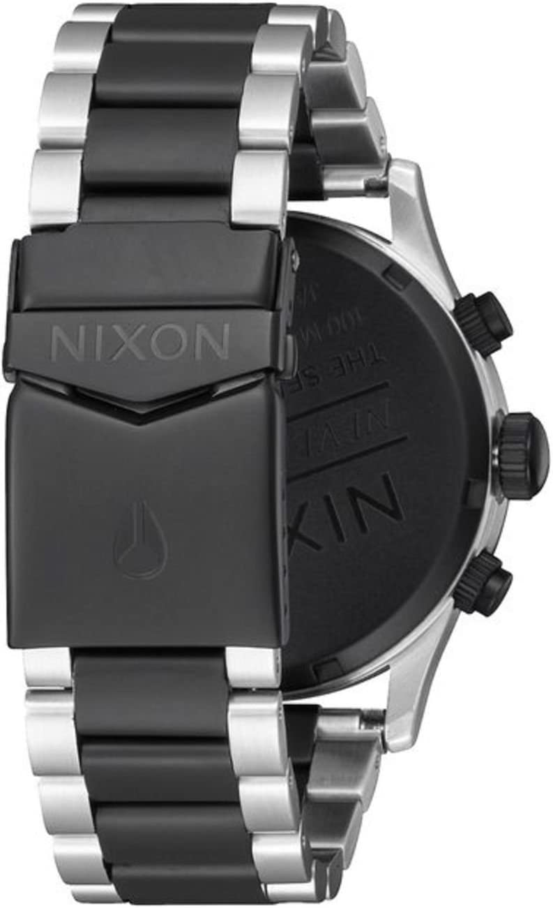 NIXON Sentry Chrono -Spring 2017- Black/Rose Gold Noir