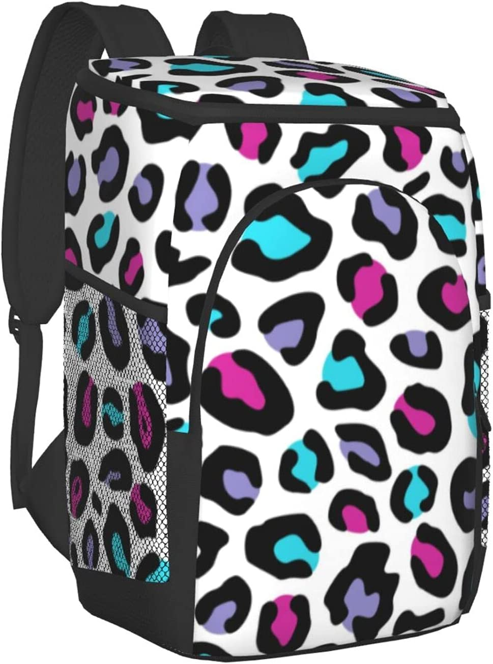 Colorful Popularity Weed Max 86% OFF Leaf Pattern Cooler Backpack Insulated Bag Leakpro