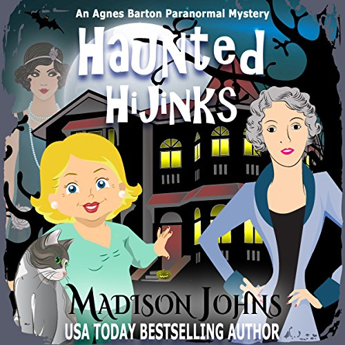 Haunted Hijinks audiobook cover art