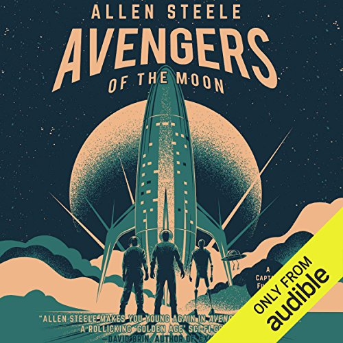 Avengers of the Moon audiobook cover art
