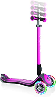 comprar comparacion Sk8teforyou - Bicicleta Infantil Unisex Juvenil Globber Elite Lights Deluxe, Rosa, Talla única