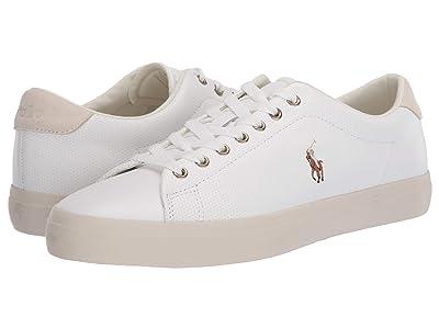 Polo Ralph Lauren Longwood (White Perf Nappa Smooth Calf) Men