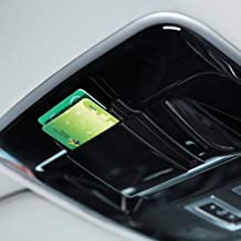Plastic Roof Card Storage Box Car Accessories for Landrover Range rover Sport Vogue Velar 2014-2017 Black