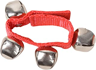 Brazalete con cascabeles, juguete musical y educativo para niños, unisex, de ZHOUBA rojo rosso Talla:talla única