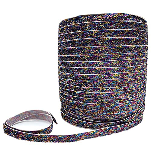 SELCRAFT 6/10/15/20/25/38mm Glitter Velvet Ribbon Handmade Wedding Party Decoration Ribbon for Gift Wrapping DIY Hair Sewing Fabric no.2394