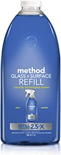 Method Glass Cleaner + Surface Cleaner Refill, Mint, 68 Ounce