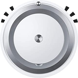 Migaven Robot Aspirador, Aspiradora Robot De Control Remoto 3 En 1 Usb Recargable 1300Pa Aspiradora Robot De Fregona De Ba...