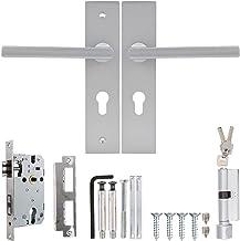 Deurslot Stijl deurklink slot voor indoor slaapkamer woonkamer mechanische deur pull lock Home Security Lockset Duurzaam