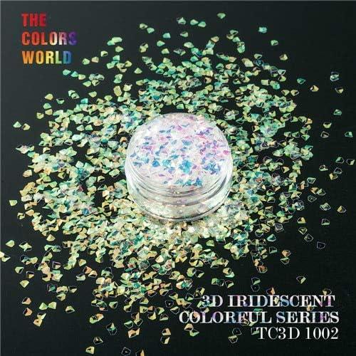Gabcus Dedication TCT-081 Iridescent Rainbow sold out Color f Jewel 3D Glitter Shape