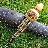 ETbotu - Flauto cinese a mano Hulusi - Strumento musicale etnico C chiave Bb tono per gli amanti della musica principiante C key