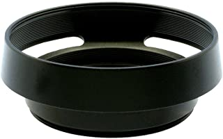 Gadget Place Black Vented Metal Lens Hood for Panasonic Lumix G 20mm F1.7 ASPH