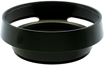 Gadget Place Black Vented Metal Lens Hood with Cap for Leica APO-Summicron-M 50mm f/2 ASPH
