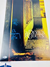 SID HAIG BILL MOSELEY SIGNED THE DEVILS REJECTS 12X18 PHOTO MINI POSTER BAS H33901 AUTOGRAPH PROOF COA AUTOGRAPHED UNIVERSAL MONSTER