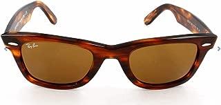 Ray-Ban 0RB2140 Original Wayfarer Sunglasses, Light Tortoise, 50mm
