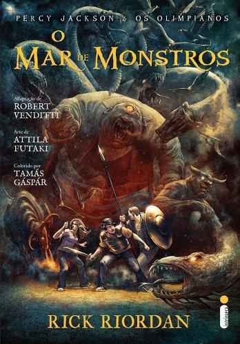 O Mar de Monstros. Graphic Novel