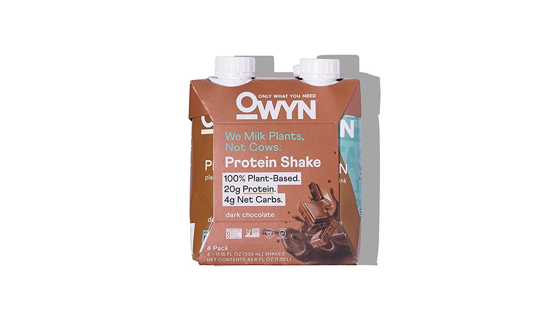 discount OWYN Dark Chocolate Plant Based 11.15 Protein Shake FZ 4pk Super popular specialty store