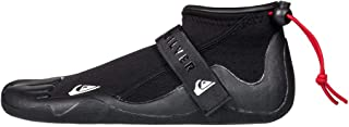 QUIKSILVER Syncro 2mm Round Toe Reef Wetsuit Boot Boots Black - Unisex - Instep Hook and Loop Tape Adjustment