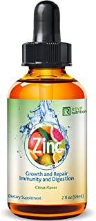 Vitamin Zinc Liquid Drops | Support Healthy Immune System Functions | Highly Absorbable | Dietary Supplement | Glass Bottle 2 fl oz (59ml)