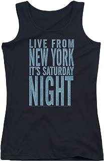 Saturday Night Live It's Saturday Night Juniors Tank Top Shirt