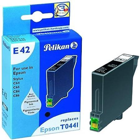 Pelikan Druckerpatrone E42 Ersetzt Epson T04414010 Schwarz Pigment Bürobedarf Schreibwaren