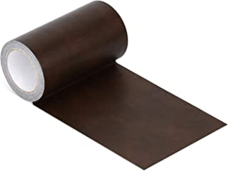 Onine Leather Repair Tape Patch Leather Adhesive for Sofas, Car Seats, Handbags, Jackets,First Aid Patch (Brown Leather)