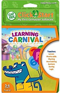 Leapfrog Clickstart Educational Software: Learning Carnival