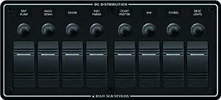Water Resistant Circuit Breaker Panel 8 Position-Black