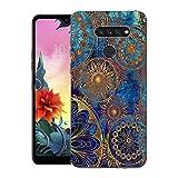 CaseExpert LG K50S Case, Pattern Soft Slim Gel Silicone TPU