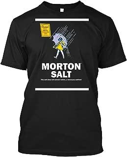 Morton Salt T-shirt Customized Handmade T-shirt For Men For Women