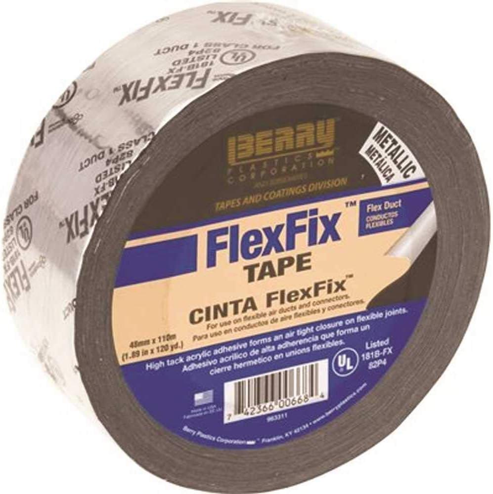 Berry Plastics 1141184 1.89 in. x yd. Louisville-Jefferson County Mall Flexfix List Max 77% OFF 120 UL181B-FX