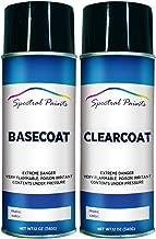 Spectral Paints Compatible/Replacement for Audi L0L6 Verde Mantis Metallic 12 oz. Aerosol Spray Paint and Clear Coat