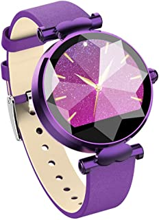 GXSLKWL Color Screen Activity Health Tracker with Heart Rate Blood Pressure Monitor Fitness Tracker, Waterproof Women's Sm...